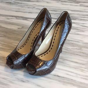 Enzo Angliolini Platform Peep Toe Heels
